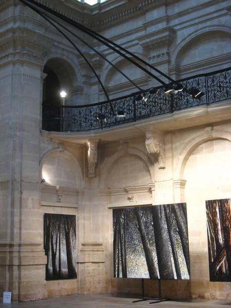 exposition a nimes en 2008, chapelle des jesuites et galerie chouleur