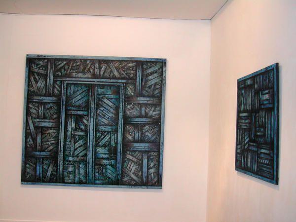 expo  galerie des arenes a Nimes en 2004