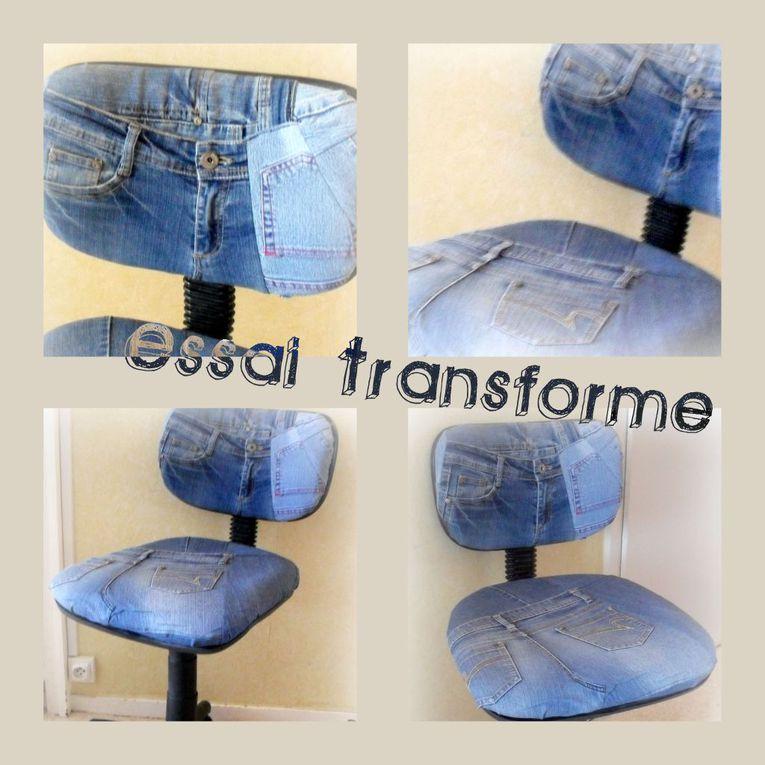 De sensibilité écologique, je détourne souvent des tissus de vêtements pour leur donner une nouvelle vie.