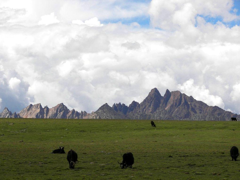 Photos prises au Tibet aux alentours de l'éclipse du 22 juillet 2009
