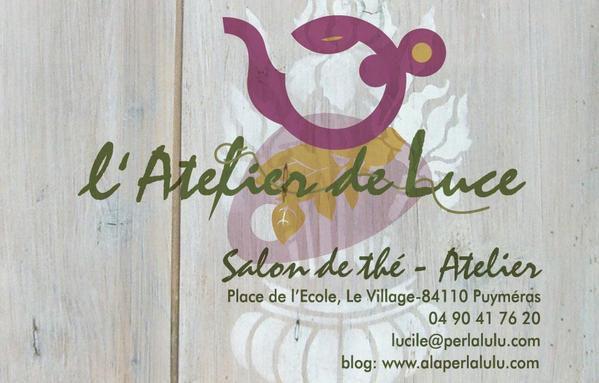 Visitez l'Atelier de Luce, ses soirées gourmandes, ses créations