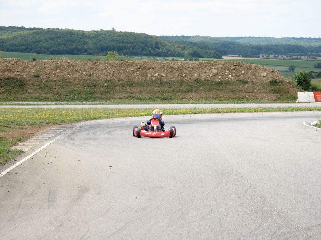 Les 45 ans du club Karting de Bouzonville, sur la piste de Mirecourt Juvaincourt, dans les Vosges!