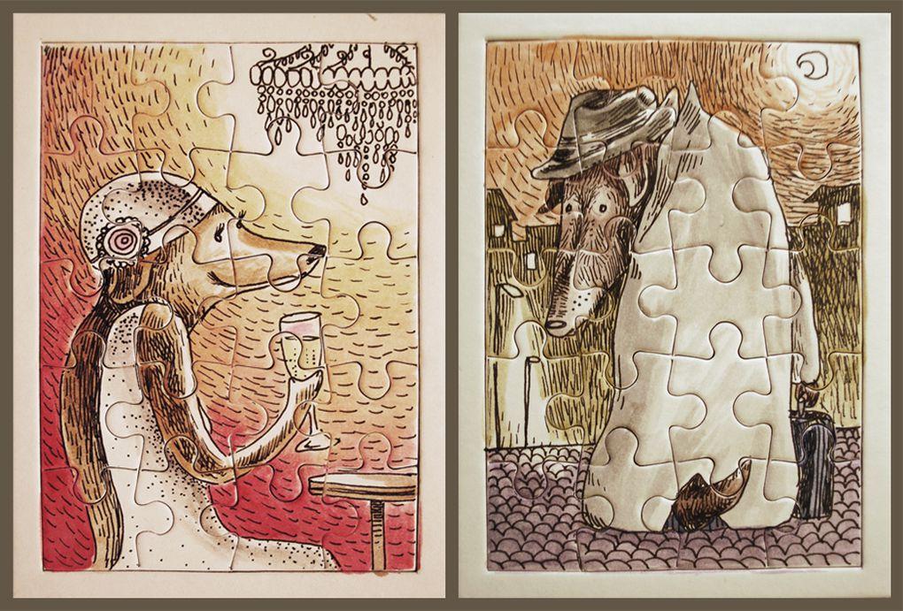 album d'illustrations