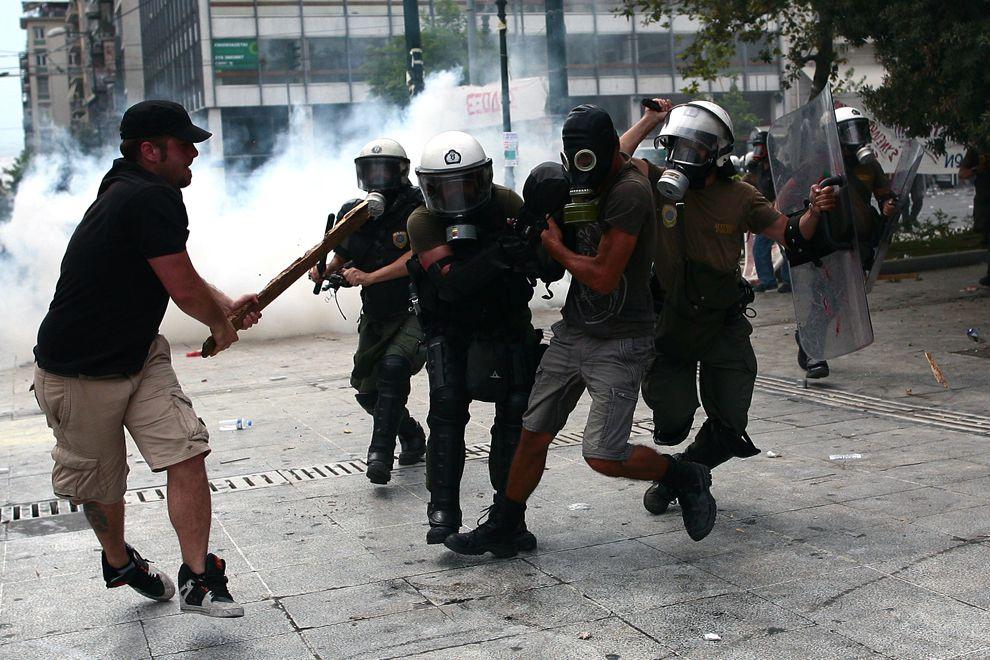 peuple en action - social-démocratie répression