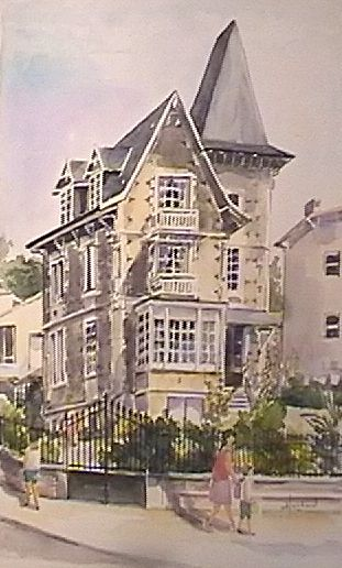 Album - Aquarelles-Maisons-Belle-Epoque--ROYAN