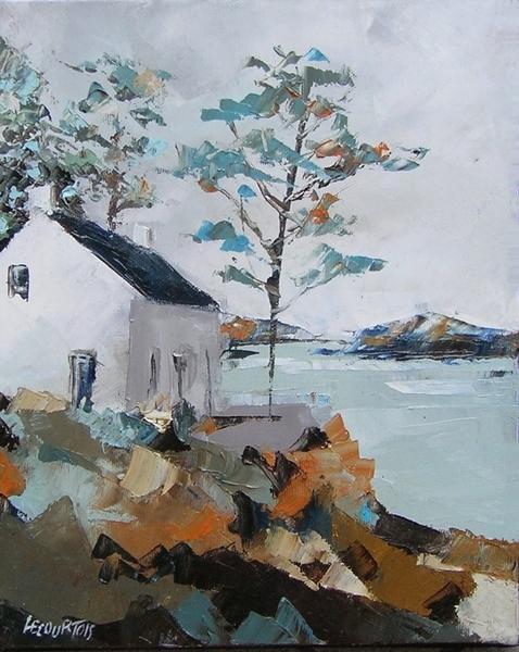 """Les """"Chausey"""" ont été réalisées sur le motif et on réalisées à l'huile sur toile...copyright Olivier Lecourtois 2006-2011"""