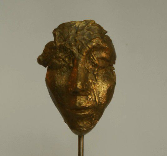 bronze, marbre, sculptures peintes, performance...