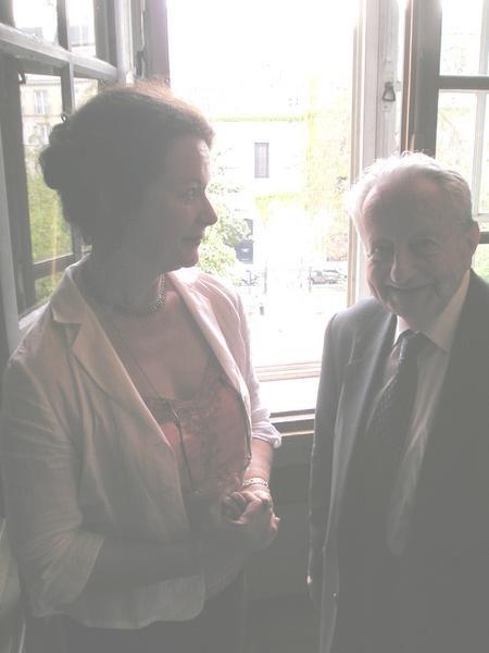 Conseil d'administration et visite de la Biblioth&egrave&#x3B;que de l'Institut par nos membres le 24 avril 2007.