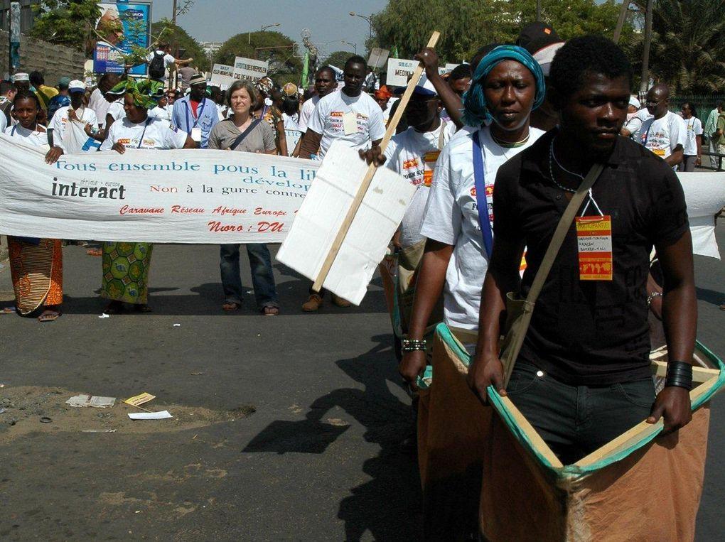 Album - Marche-d-ouverture-du-Forum-Social-de-Dakar-2011