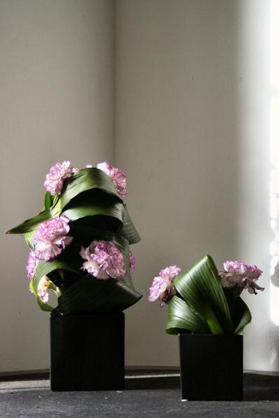 <strong>Compositions florales avec des oeillets</strong>