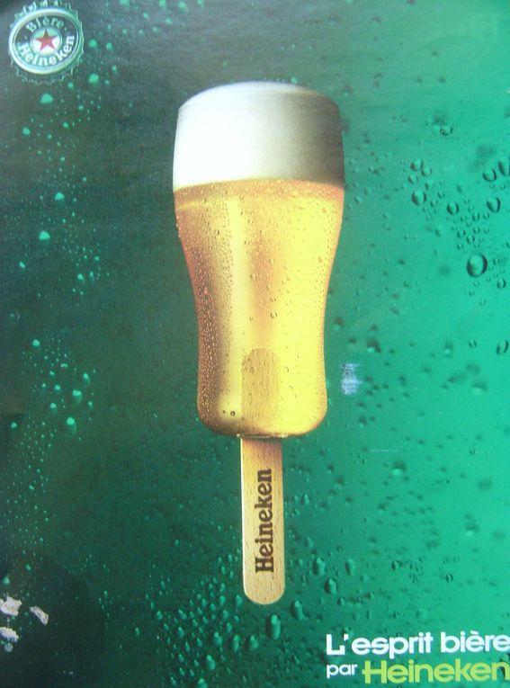 Une campagne publicitaire de Heineken, menée par Publicis pendant plusiuers années