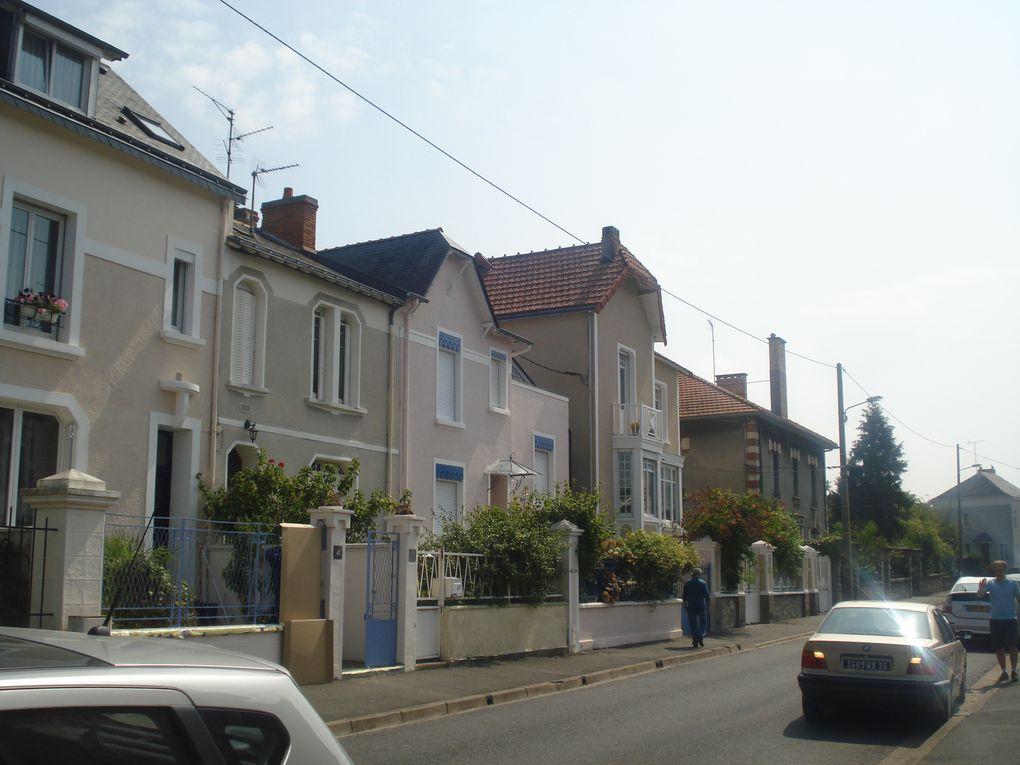 Elles forment le quartier du Lutin. C'est une ancienne cité ouvrière...