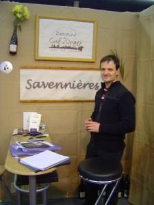 Vignerons exposant au Salon des Vins de Loire, Angers, février 2009