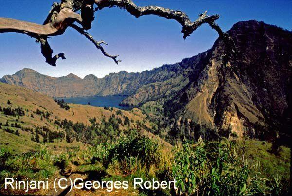 Sur l'île de Lombok en Indonésie, le Rinjani qui culmine à 3726m est un volcan dont il ne faut pas rater l'ascension... Voilà quelques images.