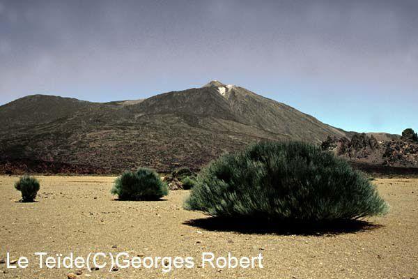 Le Teïde (3718m) sur l'ïle de Ténérife aux Canaries est le plus haut sommet d'Espagne. Son ascension offre un point de vue sur des paysages époustouflants.. A vos baskets !