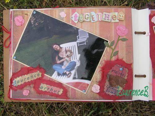 Mes pages et albums scrapp&eacute&#x3B;s
