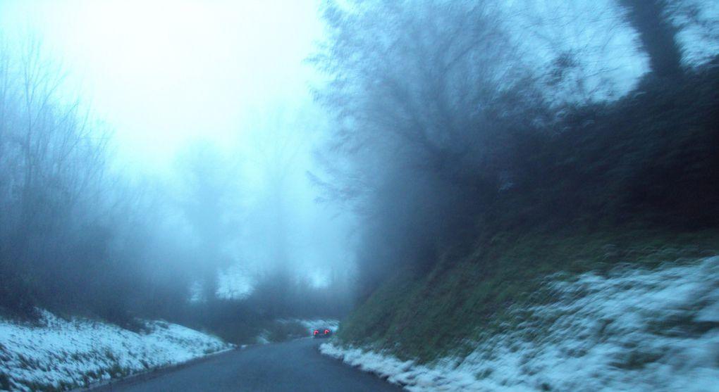 150 km de fléché métré au road book sur les collines du Ternois.Et dans la neige !