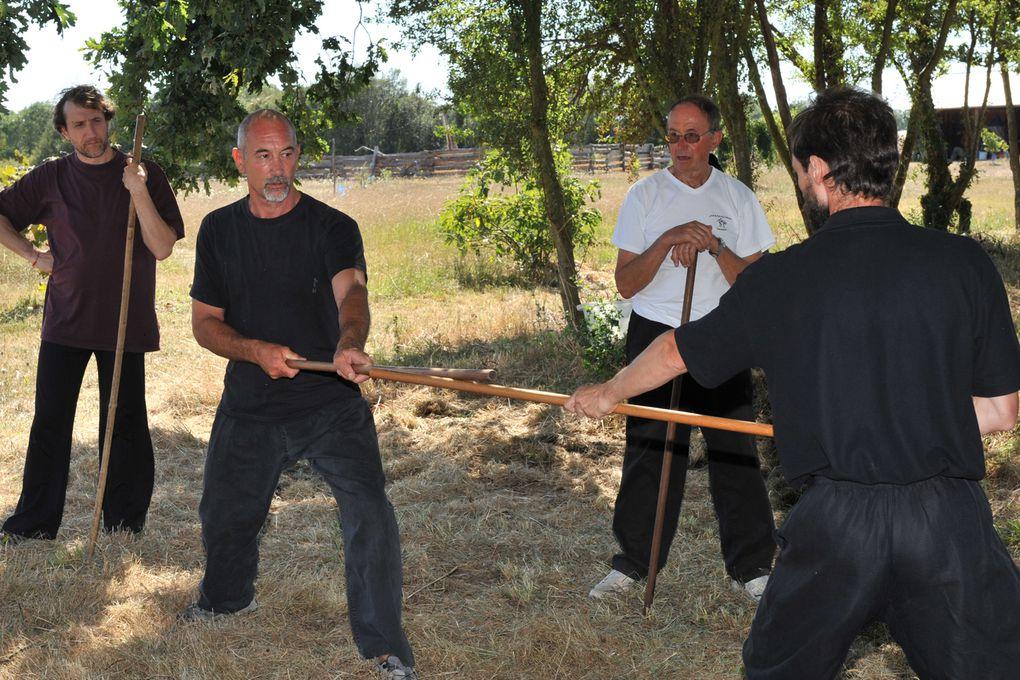 Jeux au bâton avec Joël Roche JEUX EPEE 2009Photos : Coralie Pilard