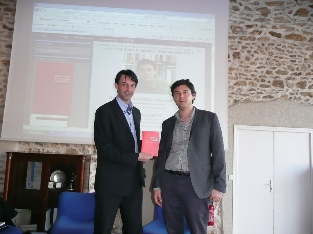 Album - Conférence de Thomas PIKETTY le 6 avril 2011
