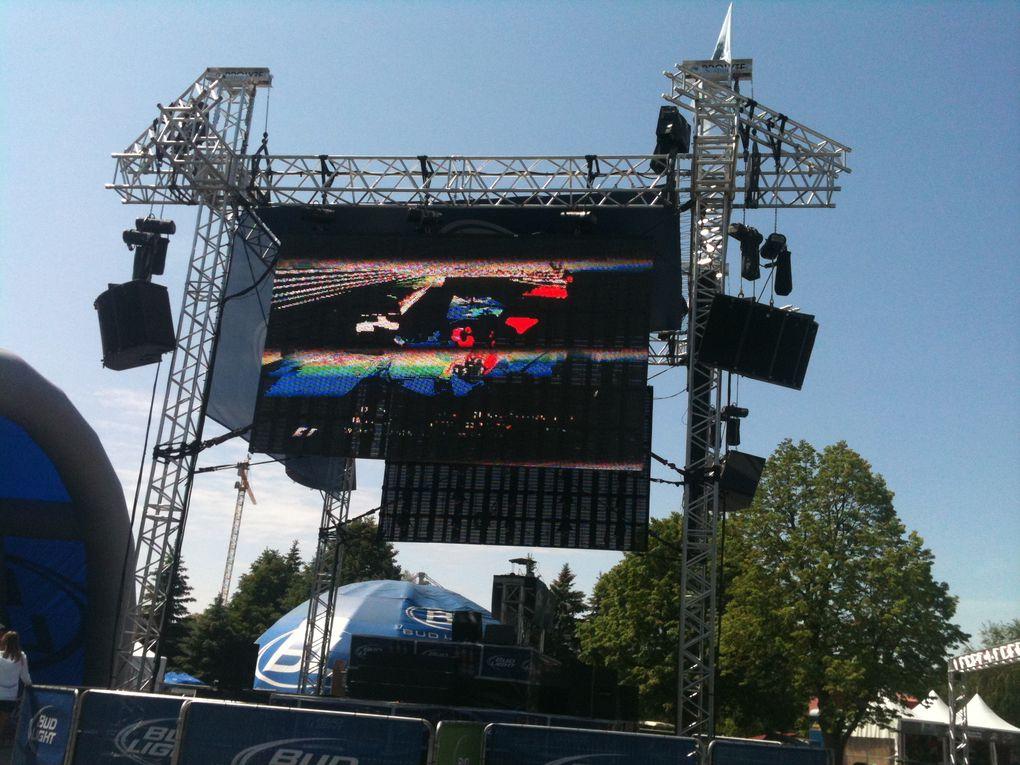 Photos prises le vendredi des essais libres, sur le circuit F1 Gilles Villeneuve - GP F1 2011