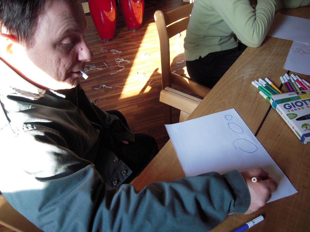 Travail de préparation pour la participation aux Phonies Bergères 2010