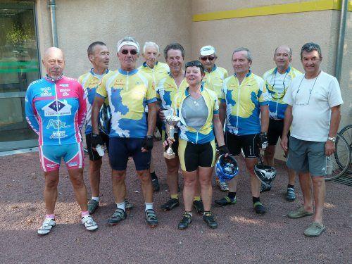 le samedi 01 octobre 2011 le CSADN cyclotourisme organisait son traditionnel rallye d'automne par une belle journée à la météo estivale