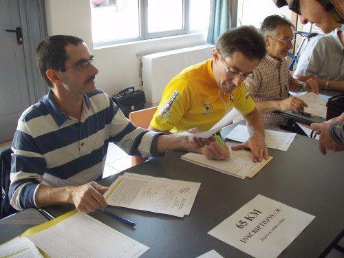 le samedi 31 mars 2012, le CSADN cyclotourisme organisait son traditionnel rallye de printemps qui a eu une participation record de 152 cyclos