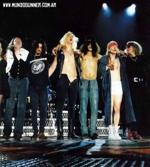 Voila divers photos, image des Guns N' Roses
