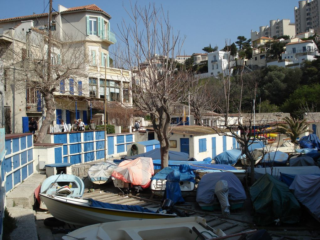 Une Rando citadine originale dans les quartiers Sud de Marseille!