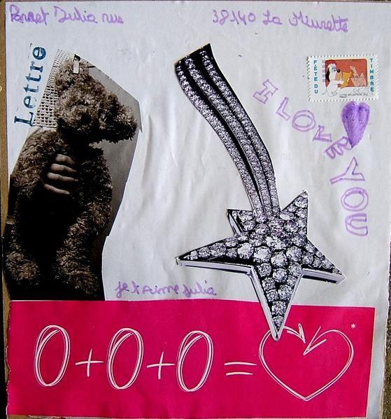 Voici les lettres de l'atelier Mail-art que nous avons animé avec les enfants de La Murette, près de Voiron, en Isère. Cliquez sur les images pour les voir en grand !
