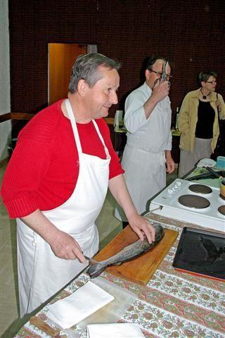 Photos de l'Atelier Cuisine du 24 mars 2009 par le Groupe Retraite Active de Montreuil-Juigné