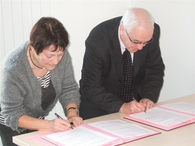 Signature de la Convention entre Retraite Active et le CCAS