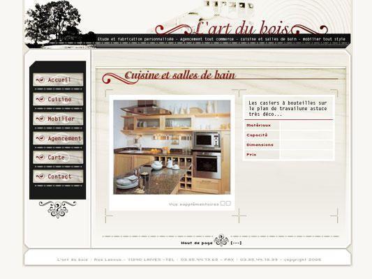 Album - pages web