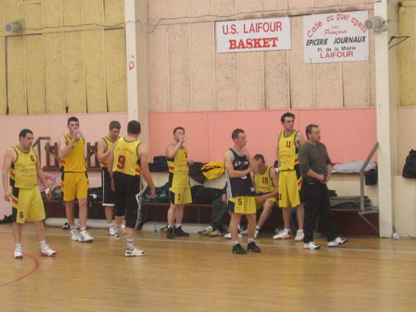 Photos du match Seniors USL - EAV - 18 mars 2007