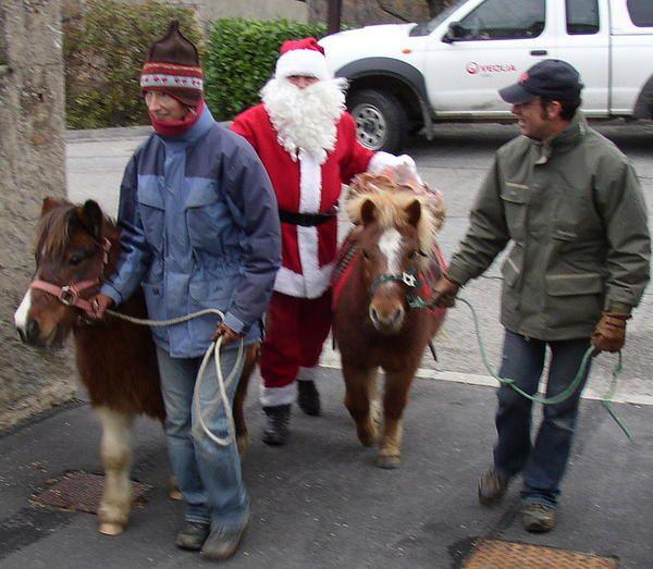 Divers marchés de Noël et Téléthon 2008