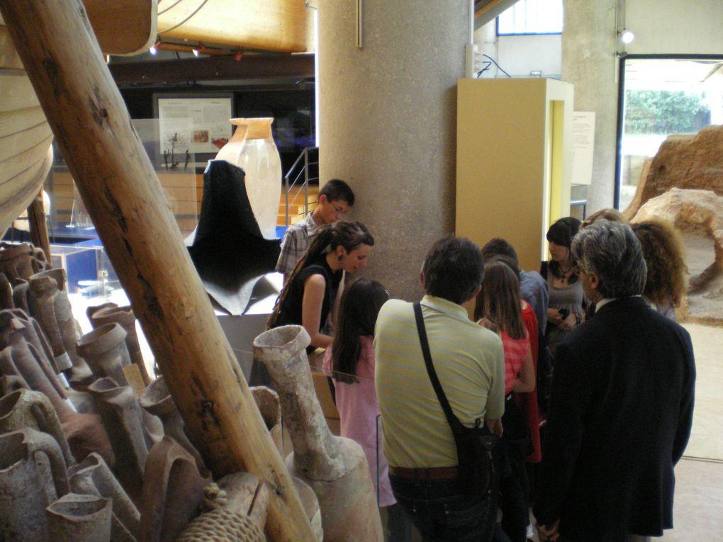 Samedi 09 mai 2009 l'Ecole Grecque de Nice côte d'Azur et Monaco visite Marseille.
