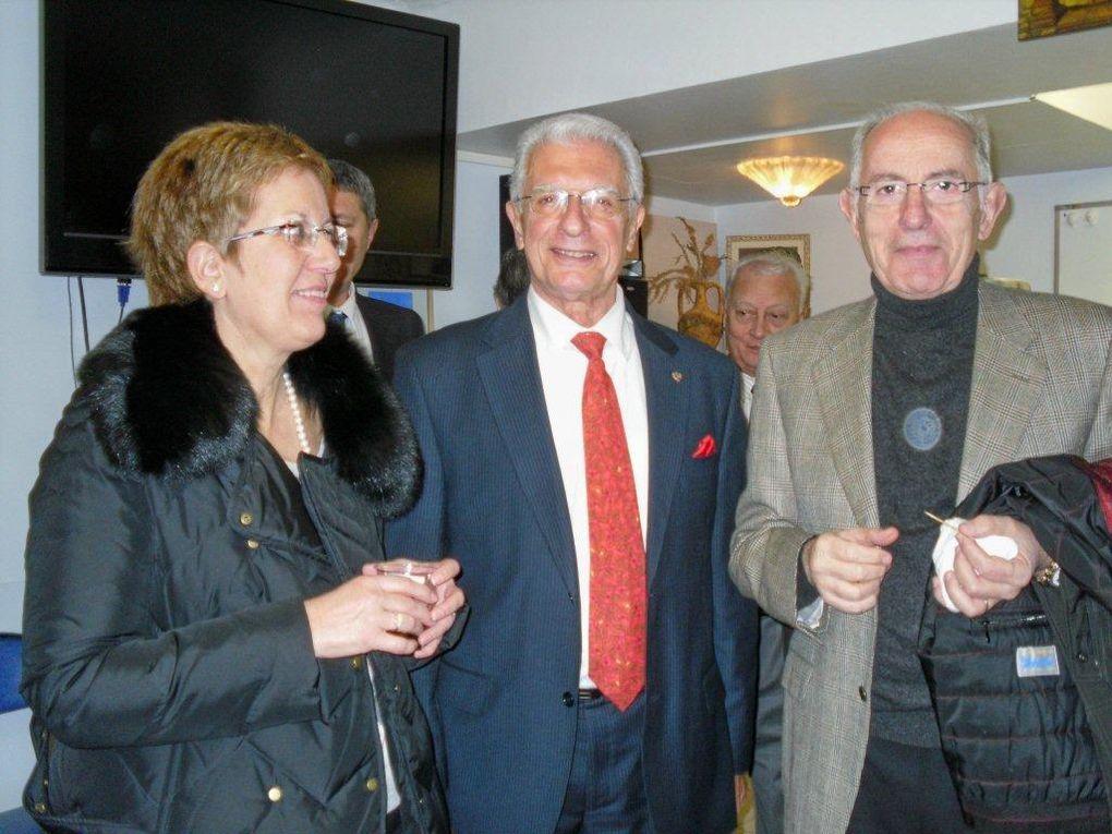11-12-13 Δεκέμβριου 2009, τριήμερος εορτασμός του Αγίου Σπυρίδωνα Νίκαιας-Γαλλίας.Δεξίωση στο μέγαρο ACROPOLIS εγγένεια της έκθεσης ζωγραφικής τ