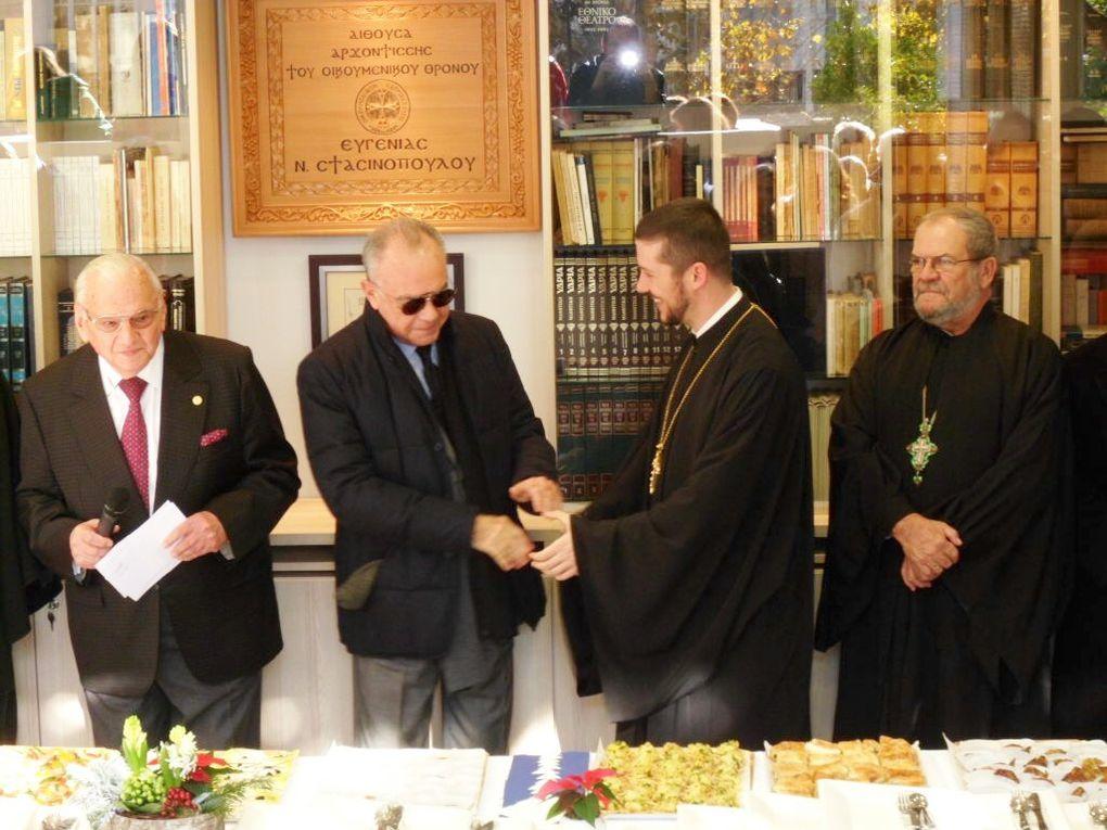 Manifestations de célebration du 60e anniversaire de la Communauté Grecque Orthodoxe de Nice - Côte d'Azur - Monaco