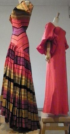 photos de l'exposition consacrée à la couturière Madame Grès
