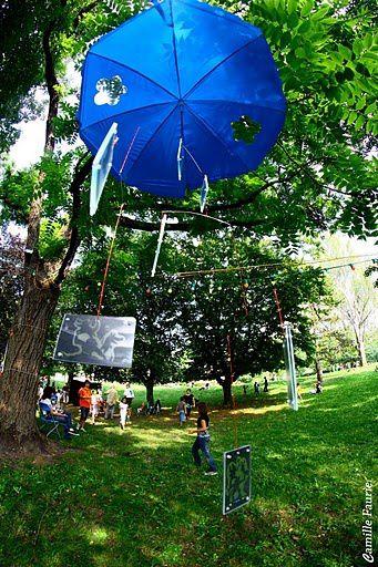 Cirkus partyévènement festif arts du cirque et arts visuels organisé par Dis Bonjour à la Dame juillet 2011Photos : Camille Faurie & Simone comté