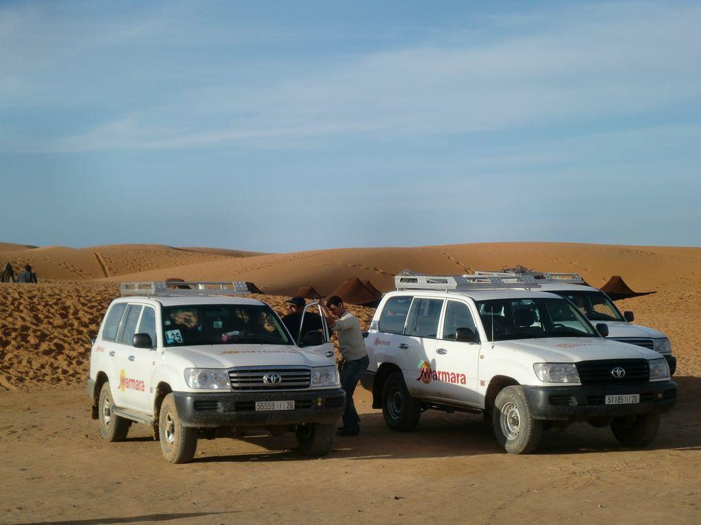 Photos du Maroc prises en février 2010 : circuit grand sud en 4X4 + Marrakech...