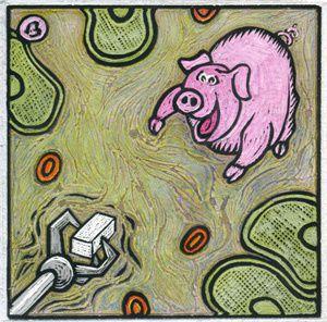 Pour cette partie là de mon travail, aller plutôt voir sur mon site http://occhio.free.fr