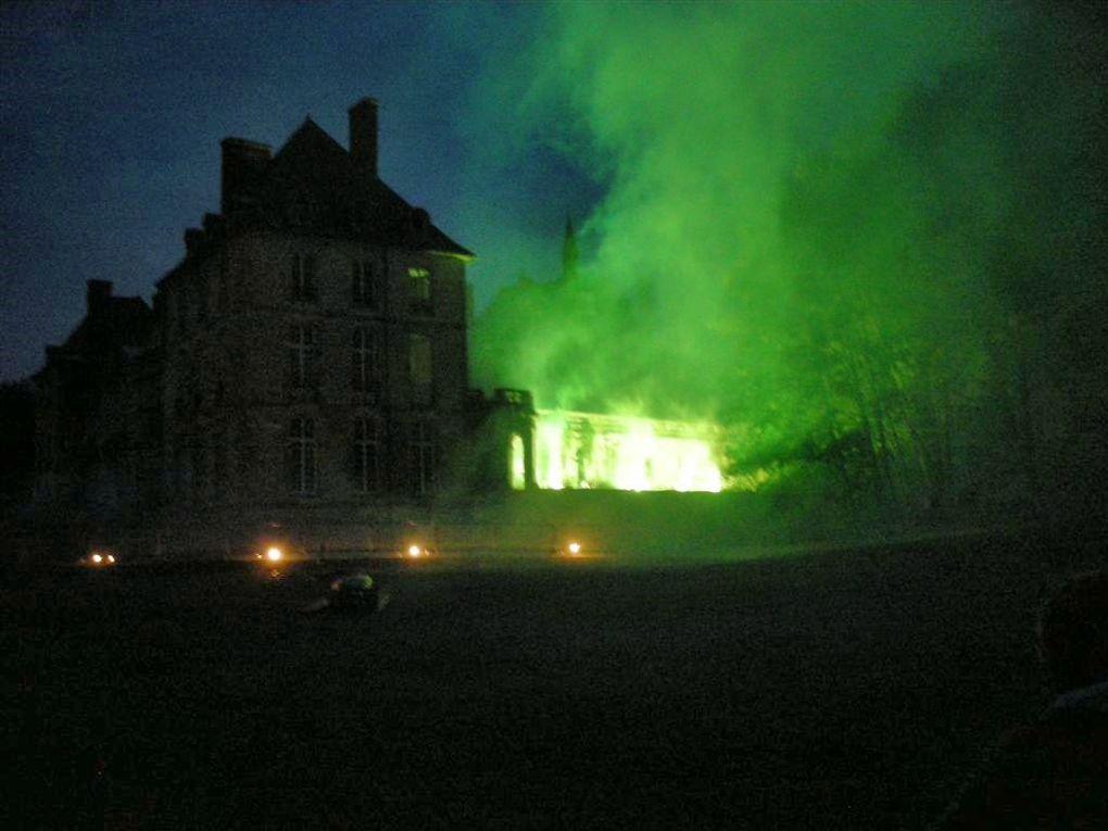 Dimanche 20 juin 2010 dans le cadre du château de Thugny-Trugny .Photos des répétitions et des concerts