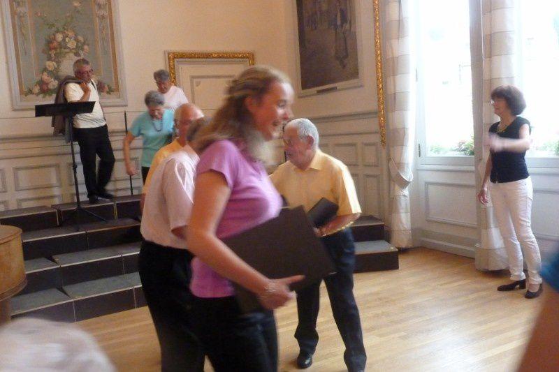 """Concert donné à l'Hôtel de Ville de Rethel le Vendredi 17 juin à 19h. Le titre était """"Je me souviens"""" ."""