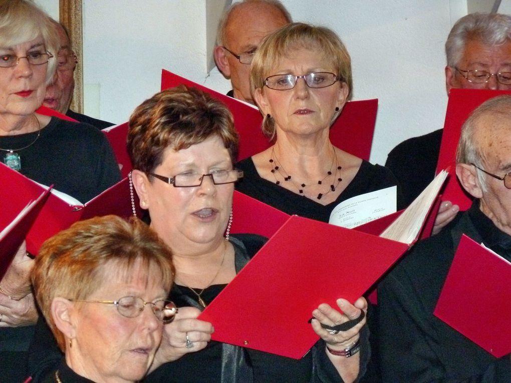 Concerts de Chants de Noël donnés le 17 décembre 2011 à Pauvres et le 18 Décembre à Rethel.