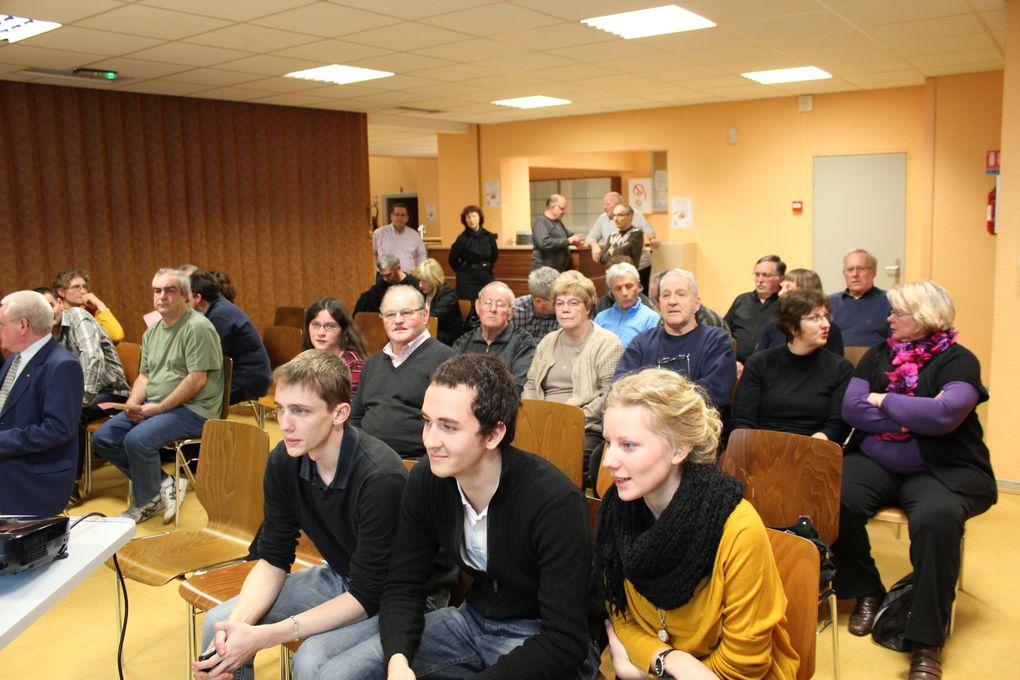 Notre 28ème AG s'est tenue le 17 février 2012 à la salle des fêtes d'Entzheim en présence d'une assistance nombreuse et de quelques personnalités.Merci à tous les participants et féliciatations à tous les médaillés !