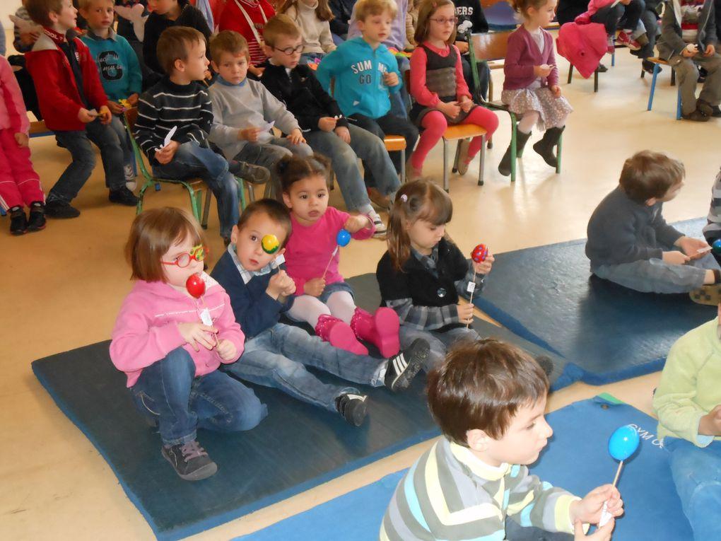 Z - Célébration Pâques maternelle 2012