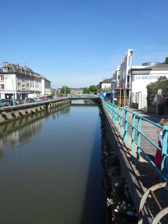 Z - Visite de Pont Audemer avec Virginie 2014