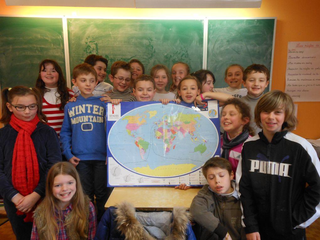 Z - Pojet Vendée Globe en CM1_2013