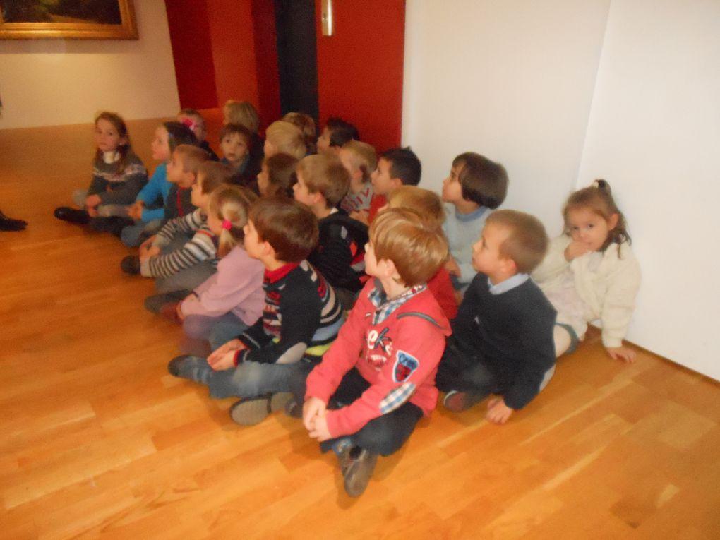 Z - Les G.S découvrent le musée Canel 2012
